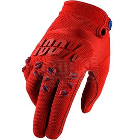 100% AIRMATIC GLOVE Large  fire red