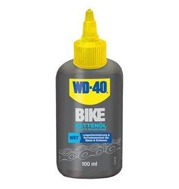 WD-40 BIKE Kettenöl Wet Flasche 100ml