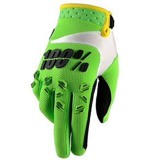 100% 100% AIRMATIC GLOVE Small lime