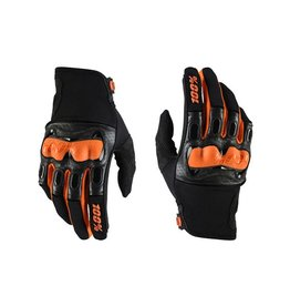 100% DERESTRICTED DISCOVERY SPORT GLOVE L blk/org