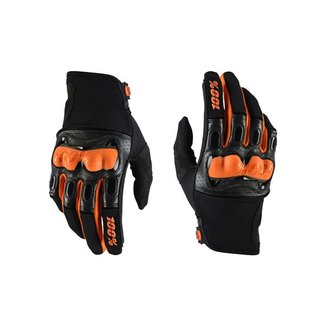 100% 100% DERESTRICTED DISCOVERY SPORT GLOVE L blk/org