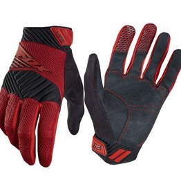 FOX DIGIT GLOVE RED Medium