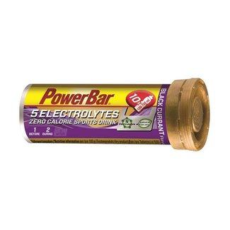 POWER BAR 5 Electrolytes Sports Drink Black Current Stck