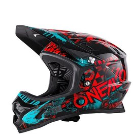 ONEAL O`NEAL BACKFLIP RL2 HELMET ATTACK BLK/RED/TEAL M (57/58CM)
