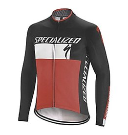 Specialized THERMINAL RBX COMP LOGO JERSEY LS BLK/WHT/RED XXL