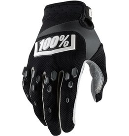 100% 100% AIRMATIC GLOVE Medium black