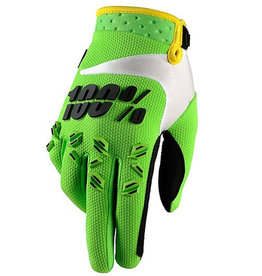 100% 100% AIRMATIC GLOVE KIDS Small lime