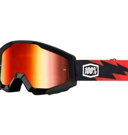 100% 100% STRATA GOGGLE ANTI FOG MIRROR LENS Slash