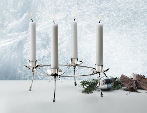 JOHANNE ADVENT CROWN CANDLEHOLDER, PALLADIUM, W104 | ∅306 MM