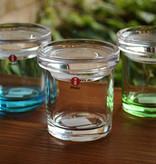 IITTALA JARS, APPLE GREEN JAR, 65 x 60 MM