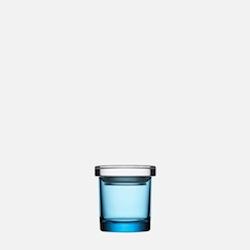IITTALA JARS, LIGHT BLUE JAR, 65 x 60 MM