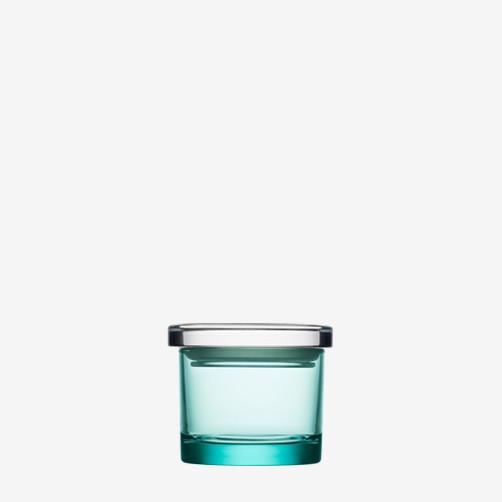JARS, WATER GREEN JAR, 65 x 80 MM