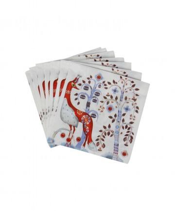 TAIKA WHITE PAPER NAPKINS, 40 x 40 CM, 20-PIECE PACK