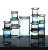 IITTALA JARS, GREY JAR, 65 x 80 MM