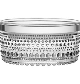IITTALA KASTEHELMI JAR, CLEAR, 11.6 x 5.7 CM