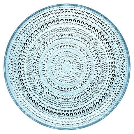 KASTEHELMI LIGHT BLUE PLATE, 24.8 CM