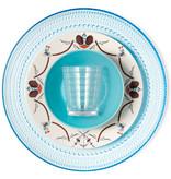 IITTALA KASTEHELMI LIGHT BLUE PLATE, 31.5 CM
