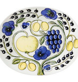 PARATIISI YELLOW PLATE, OVAL, 22 x 25 CM