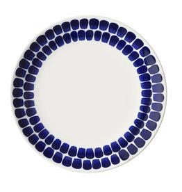 ARABIA 24H TUOKIO FLAT PLATE, COBALT BLUE, 26CM