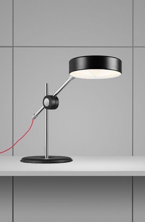 SIMRIS LED TABLE LAMP IN BLACK COLOUR