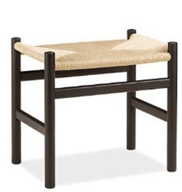 (DISPLAY) CH53 STOOL / FOOTREST IN BEECH