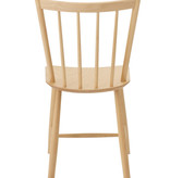 J49 DINING CHAIR IN UNTREATED BEECH, W46.5 x D47.5 x H83 CM, SH:44.5 CM