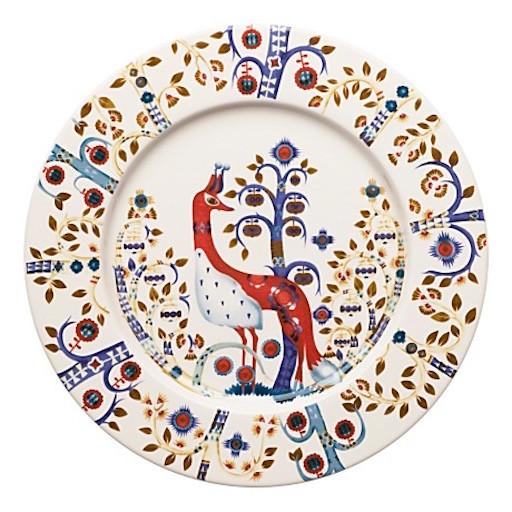 TAIKA WHITE PLATE, FLAT, 22 CM