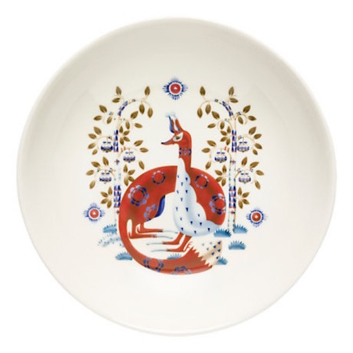 TAIKA WHITE PLATE, DEEP, 22 CM