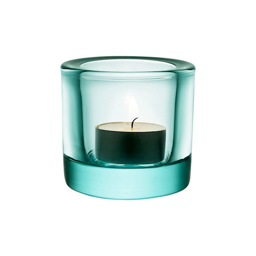 KIVI BIG VOTIVE, WATER GREEN, 80 MM