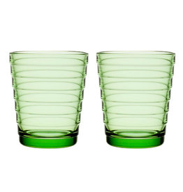 AINO AALTO TUMBLER, APPLE GREEN, 22 CL, 2-PACK