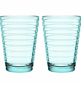 AINO AALTO TUMBLER, WATER GREEN, 33 CL, 2-PACK
