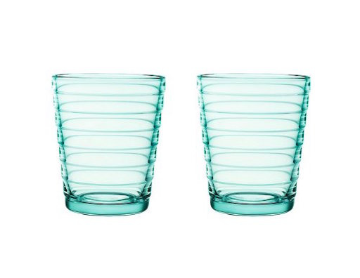 AINO AALTO TUMBLER, WATER GREEN, 22 CL, 2-PACK