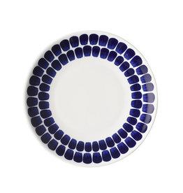 24H TUOKIO FLAT PLATE, COBALT BLUE, 20 CM