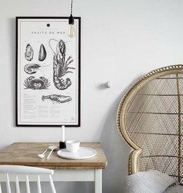 ATELIER GRAPHIQUE FRUITS DE MER LITHOGRAPHS PRINTS (UNFRAMED)