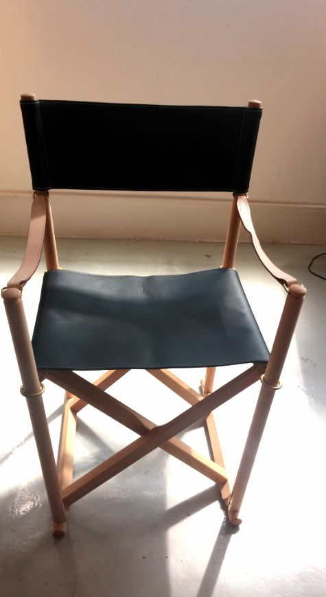 (DISPLAY) MK99200 FOLDING CHAIR IN THOR LEATHER