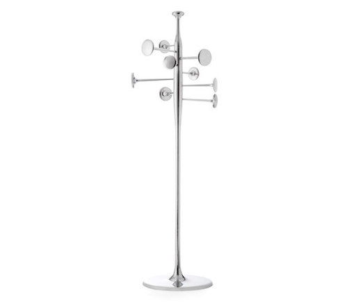 TRUMPET COATSTAND IN PARTLY RECYCLED ALUMINIUM