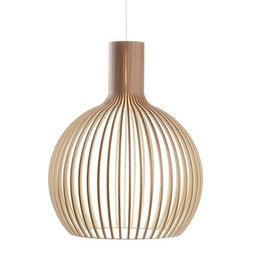 SECTO DESIGN OCTO 4240 PENDANT LAMP IN WALNUT