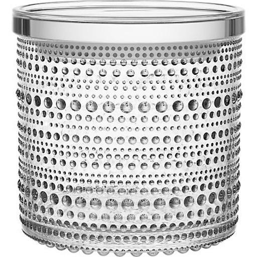 KASTEHELMI JAR, CLEAR, 11.6 x 11.4 CM