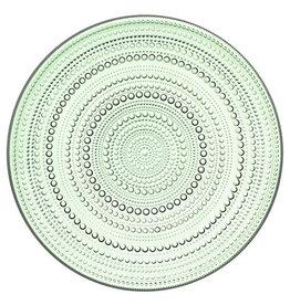 IITTALA KASTEHELMI APPLE GREEN PLATE, 24.8 CM