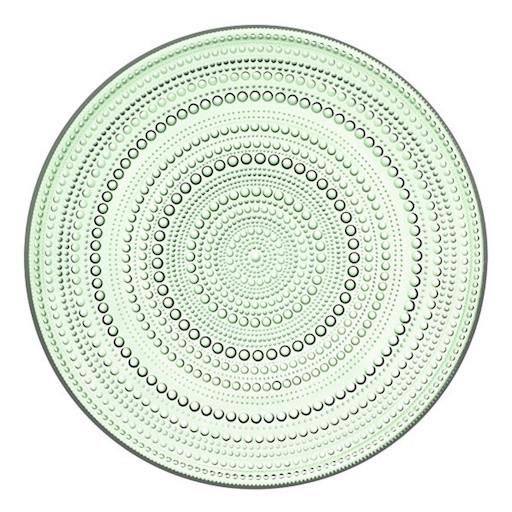 KASTEHELMI APPLE GREEN PLATE, 24.8 CM