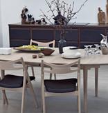 CARL HANSEN & SON CH338 EXTENDABLE DINING TABLE IN OAK