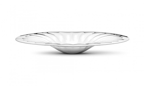LEGACY CENTREPIECE IN MIRROR-POLISHED STAINLESS STEEL