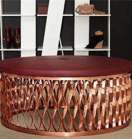 STEELO 沙发椅,銅金屬底座
