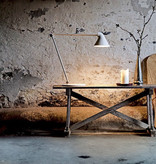 NJP TABLE LAMP, WHITE FINISH