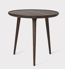 ACCENT LARGE SIDE TABLE, SIRKA GREY STAINED OAK WOOD, ∅60 | H55 CM
