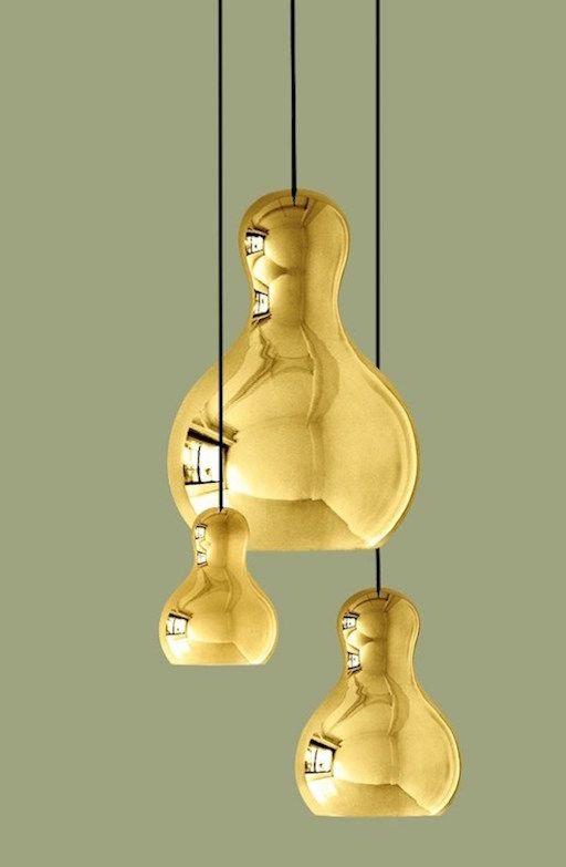 CALABASH P1 GOLD PENDANT LIGHT