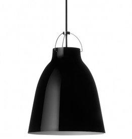 CARAVAGGIO P2 STEEL PENDANT LIGHT IN BLACK