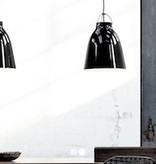 CARAVAGGIO P2 STEEL PENDANT LIGHT IN BLACK HIGH GLOSS LACQUER