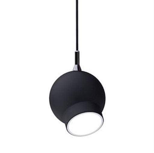 ATELJE LYKTAN OGLE PENDANT LAMP IN BLACK