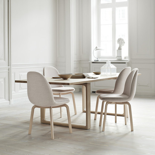 JH20 SAMMEN DINING CHAIR IN LIGHT PINK